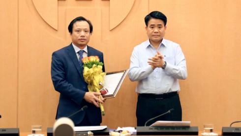 Hà Nội bổ nhiệm Giám đốc Sở Quy hoạch - Kiến trúc  - Ảnh 1.