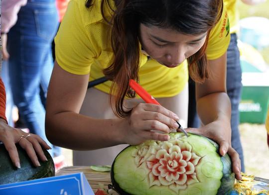 Đặc sắc Lễ hội dưa hấu lần đầu tiên ở Việt Nam  - Ảnh 4.