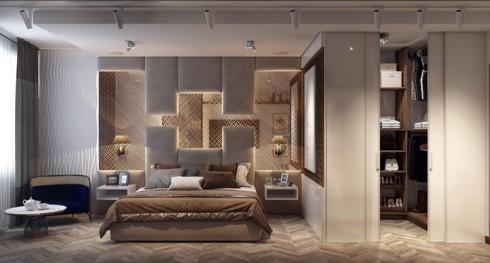 Mẫu phòng ngủ sang trọng khiến bạn không nỡ rời bước - Ảnh 11.