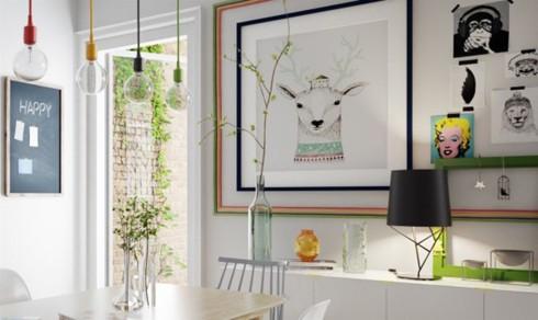 Thiết kế phòng ở mang đặc trưng nội thất Bắc Âu - Ảnh 4.