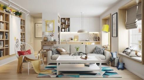 Thiết kế phòng ở mang đặc trưng nội thất Bắc Âu - Ảnh 5.