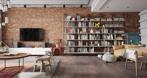 Thiết kế phòng ở mang đặc trưng nội thất Bắc Âu - Ảnh 8.