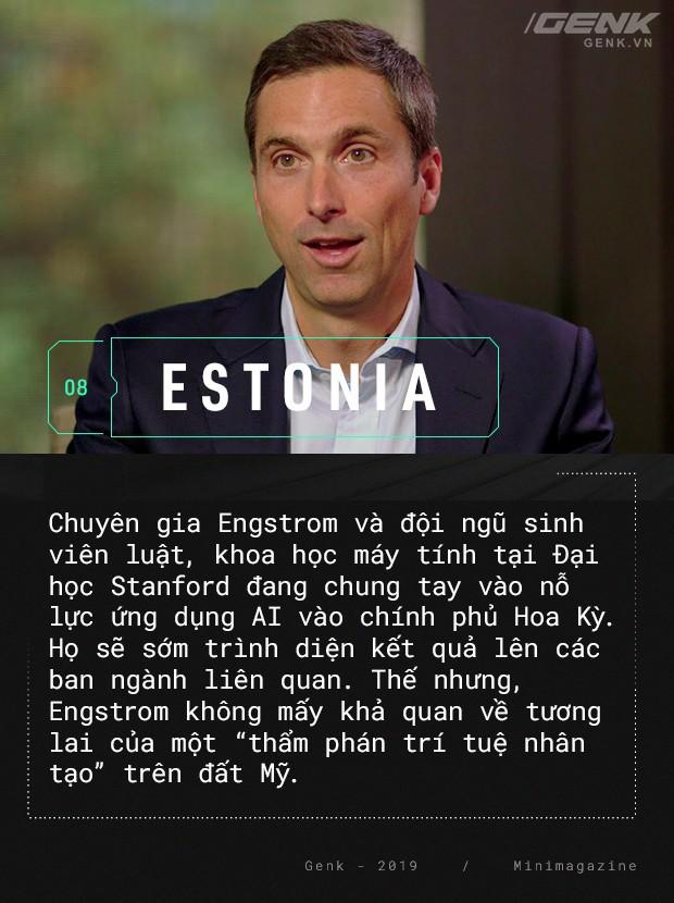 Chào mừng bạn đến với Estonia - nơi quan tòa không phải là con người - Ảnh 11.