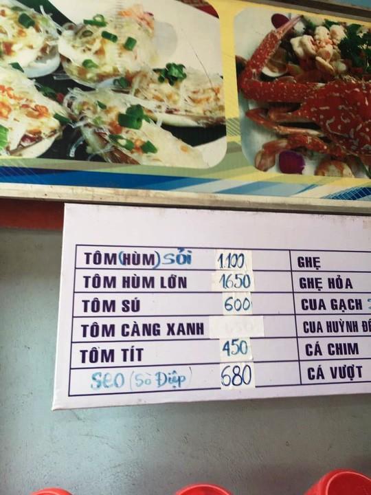 Chủ quán ở Phú Yên nói gì về đĩa Sò Điệp bị chém đẹp 680.000 đồng?  - Ảnh 5.