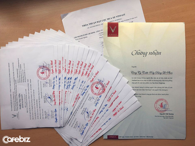 Một DN tuyên bố bỏ xe ngoại chuyển sang dùng xe Việt, đặt mua 21 chiếc xe VinFast trị giá 24 tỷ đồng - Ảnh 1.