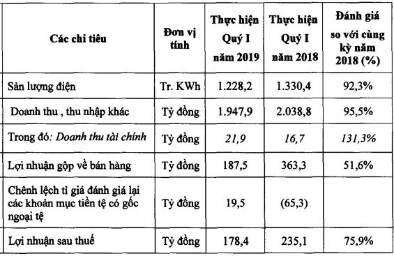 Nhơn Trạch 2 giảm hơn 24% lãi ròng quý đầu năm, về 235 tỷ đồng - Ảnh 1.