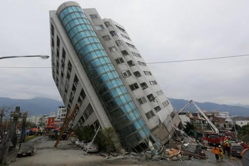Động đất mạnh 6,7 độ richter tại Đài Loan (Trung Quốc) - Ảnh 1.