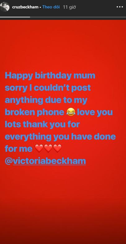 Gia đình quyền lực đáng ghen tị nhất: Beckham, dàn quý tử và Harper đều làm điều đặc biệt nhân dịp sinh nhật Victoria - Ảnh 5.