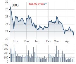 Đất Xanh (DXG): Lãi ròng quý 1 giảm nhẹ xuống 307 tỷ đồng - Ảnh 1.