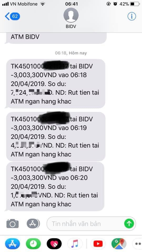 Nhiều khách hàng BIDV bỗng dưng mất tiền trong tài khoản dù thẻ ATM nằm im trong ví, ngân hàng nói gì? - Ảnh 1.