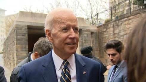Cựu Phó Tổng thống Joe Biden sẽ tham gia cuộc đua vào Nhà Trắng 2020 - Ảnh 1.