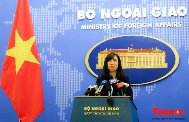Người phát ngôn Bộ Ngoại giao thông tin về sức khỏe Tổng Bí thư, Chủ tịch nước Nguyễn Phú Trọng - Ảnh 1.