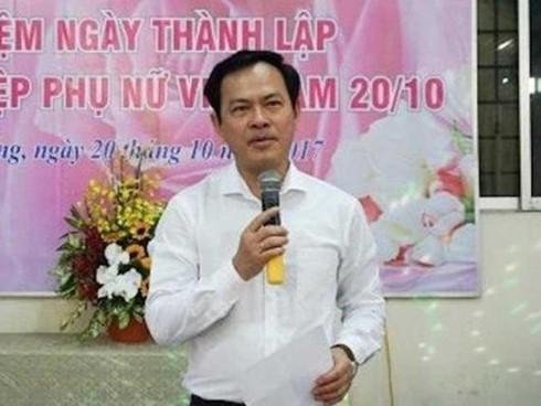Ông Nguyễn Hữu Linh đã có mặt tại Công an quận 4 - Ảnh 1.