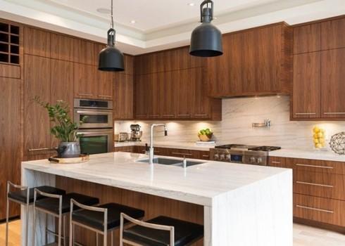 Mách bạn lựa chọn giữa thạch anh tự nhiên và nhân tạo trong thiết kế nội thất - Ảnh 6.