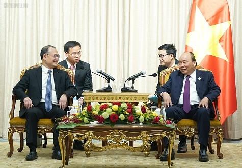 Hình ảnh hoạt động của Thủ tướng bên lề Diễn đàn Vành đai và Con đường - Ảnh 7.