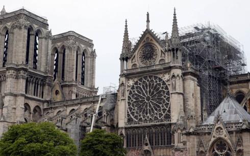 Chuyên gia phản đối kế hoạch 5 năm phục dựng Nhà thờ Đức Bà Paris - Ảnh 1.