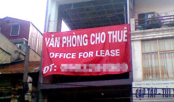 Văn phòng cho thuê đắt đỏ làm khó doanh nghiệp nhỏ và vừa - Ảnh 1.