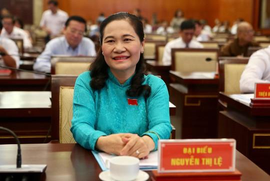 Bà Nguyễn Thị Lệ được bầu làm Chủ tịch HĐND TP HCM - Ảnh 1.