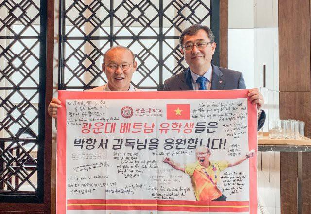 HLV Park Hang-seo bất ngờ thành… giáo sư danh dự tại Đại học của Hàn Quốc - Ảnh 1.