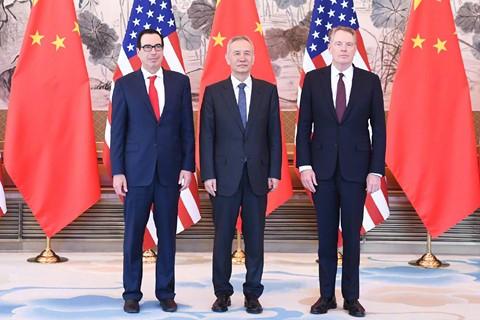 Trung Quốc, Mỹ tổ chức vòng đàm phán thương mại thứ 10 tại Bắc Kinh - Ảnh 1.