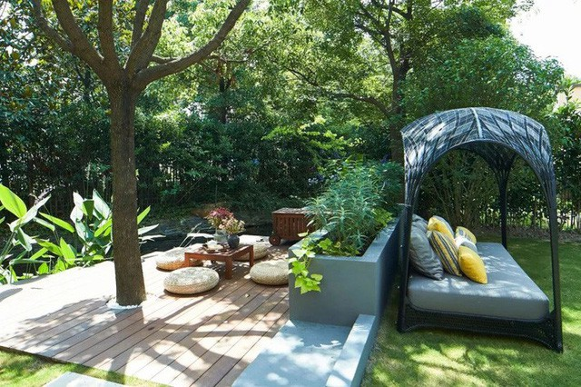 Mong muốn con sống một đời bình an, người mẹ trẻ rời thành phố về ngoại ô xây nhà vườn rộng 1000m² với bể bơi và cây xanh đẹp như mơ  - Ảnh 14.