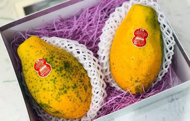 Đu đủ ở Việt Nam rẻ như cho, hàng nhập ngoại cả triệu đồng/quả - Ảnh 1.