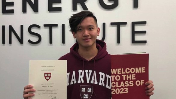 Nam sinh gốc Việt vô gia cư trúng tuyển vào ĐH Harvard: Mồ côi cha, mẹ vào tù vì cờ bạc, sống vạ vật ngoài đường - Ảnh 1.