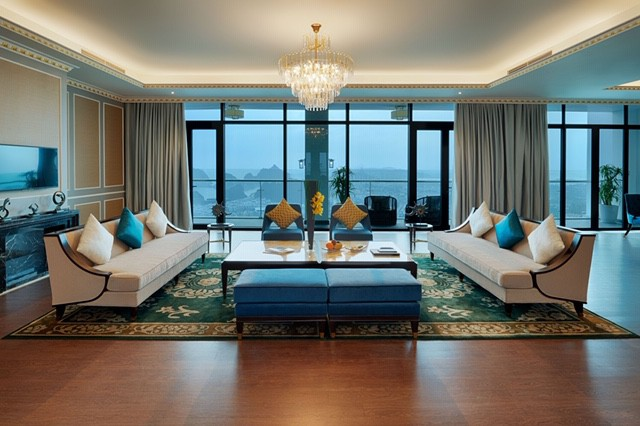 Cận cảnh phòng Tổng thống rộng 1.000 m2 tại khu quần thể có tầm nhìn đẹp nhất Hạ Long - Ảnh 2.