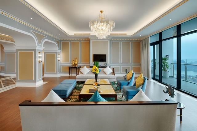 Cận cảnh phòng Tổng thống rộng 1.000 m2 tại khu quần thể có tầm nhìn đẹp nhất Hạ Long - Ảnh 6.