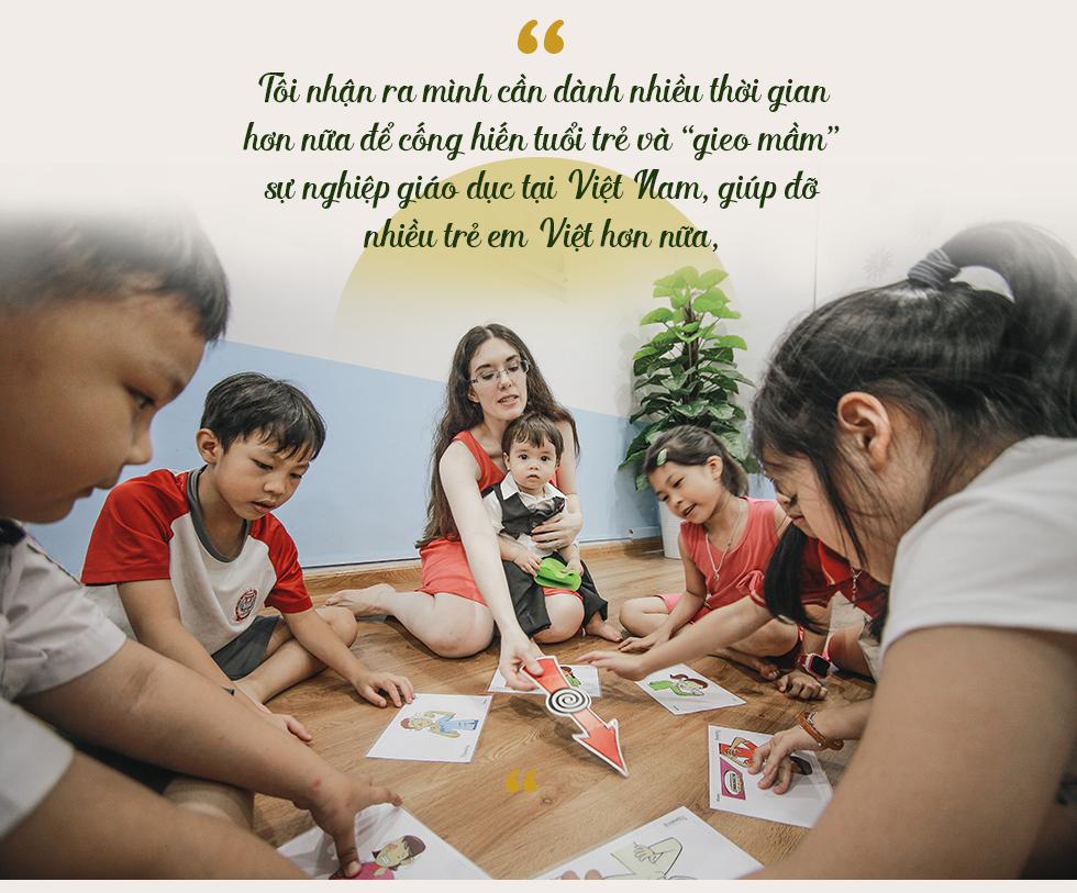 """Từ ước mơ xây ngôi trường riêng cho người con trai đến hệ thống giáo dục với chiến lược """"khác biệt hóa"""" bằng sự tận tâm của cô giáo người Mỹ - Ảnh 3."""