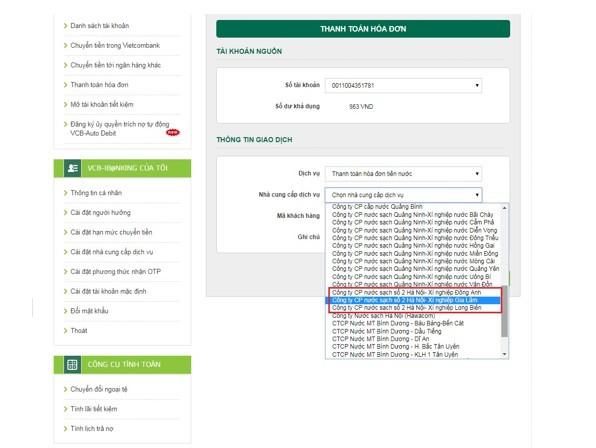 Vietcombank triển khai dịch vụ thanh toán tiền nước với Công ty cổ phần nước sạch số 02 Hà Nội  - Ảnh 2.