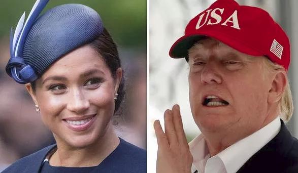 Nghỉ thai sản, Meghan Markle vẫn đá chị dâu Kate ra khỏi danh sách phụ nữ quyền lực và lý do thực sự khiến cô không gặp mặt ông Trump - Ảnh 2.
