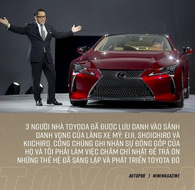 Cha truyền, con nối nhưng đời cháu nhà sáng lập Toyota đã giấu nhẹm thân thế để lột xác hãng xe Nhật như thế nào? - Ảnh 12.