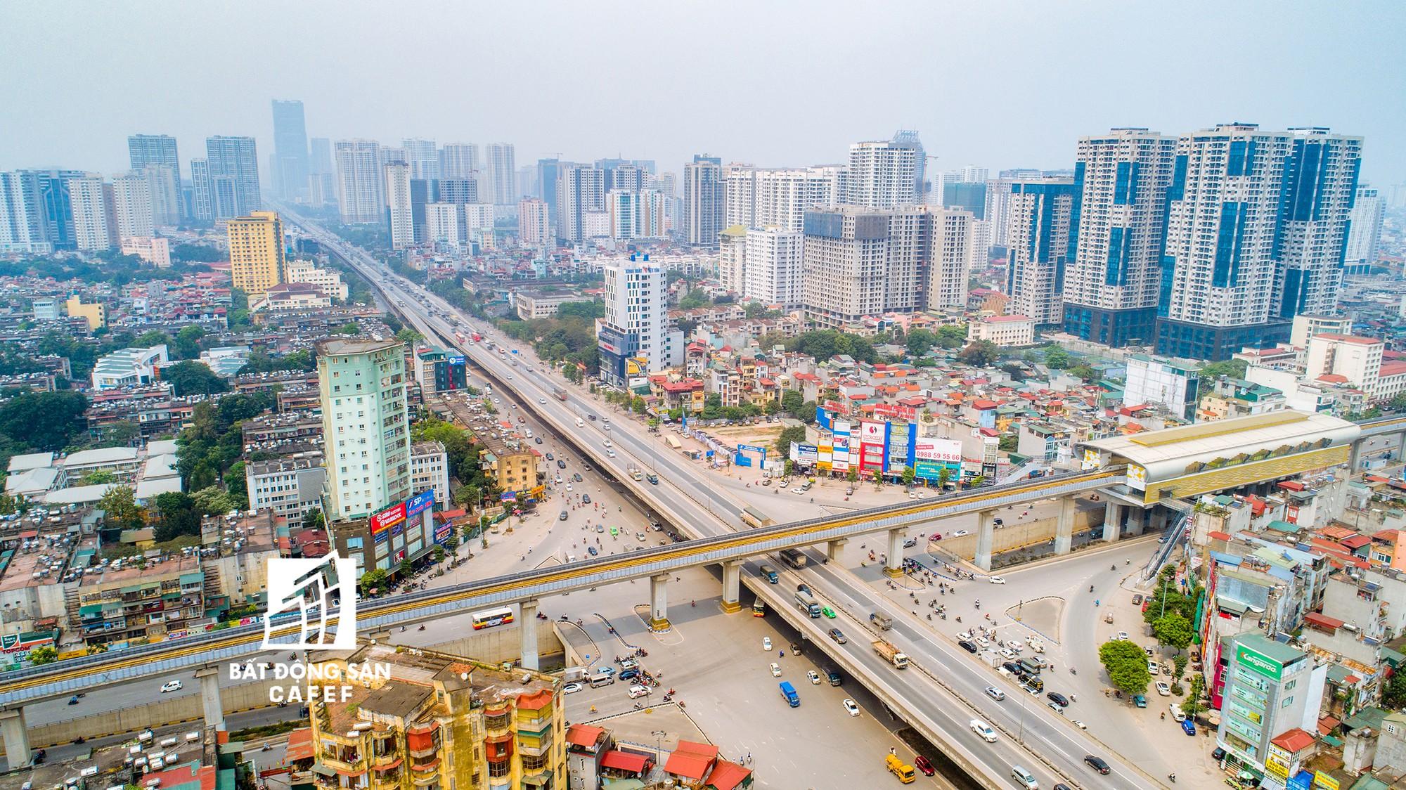 """Toàn cảnh """"rừng"""" cao ốc đang bóp nghẹt khu đô thị kiểu mẫu bậc nhất Hà Nội - Ảnh 10."""