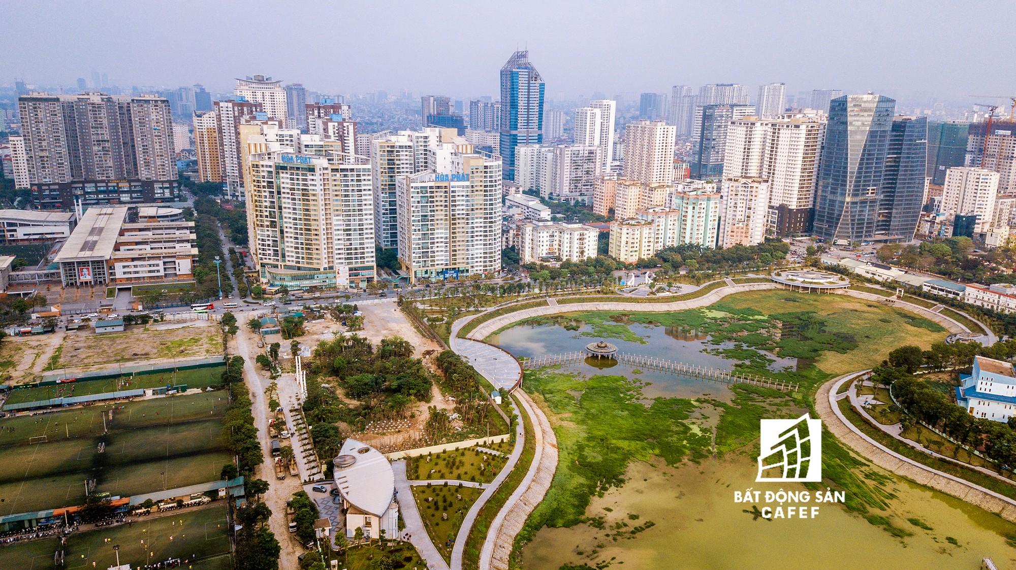 """Toàn cảnh """"rừng"""" cao ốc đang bóp nghẹt khu đô thị kiểu mẫu bậc nhất Hà Nội - Ảnh 12."""