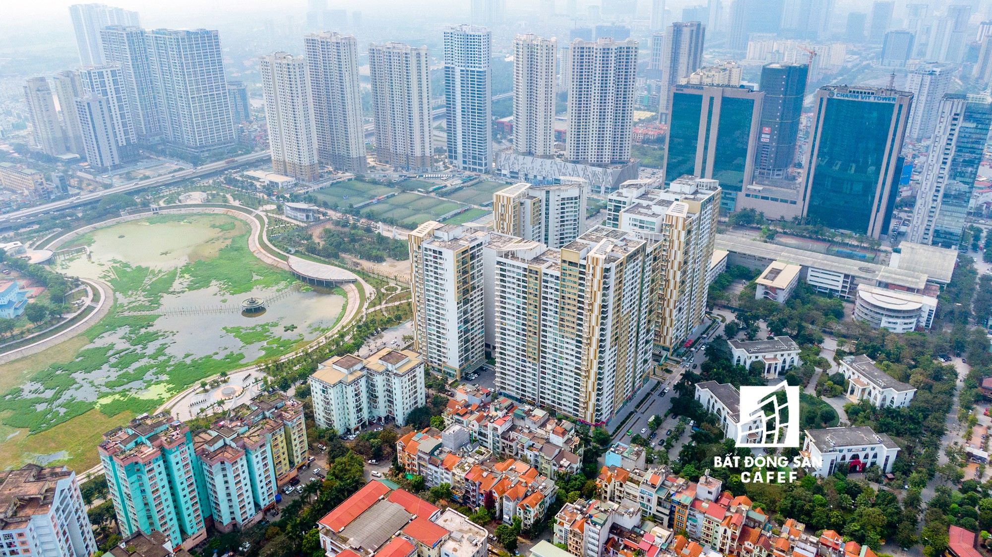 """Toàn cảnh """"rừng"""" cao ốc đang bóp nghẹt khu đô thị kiểu mẫu bậc nhất Hà Nội - Ảnh 13."""
