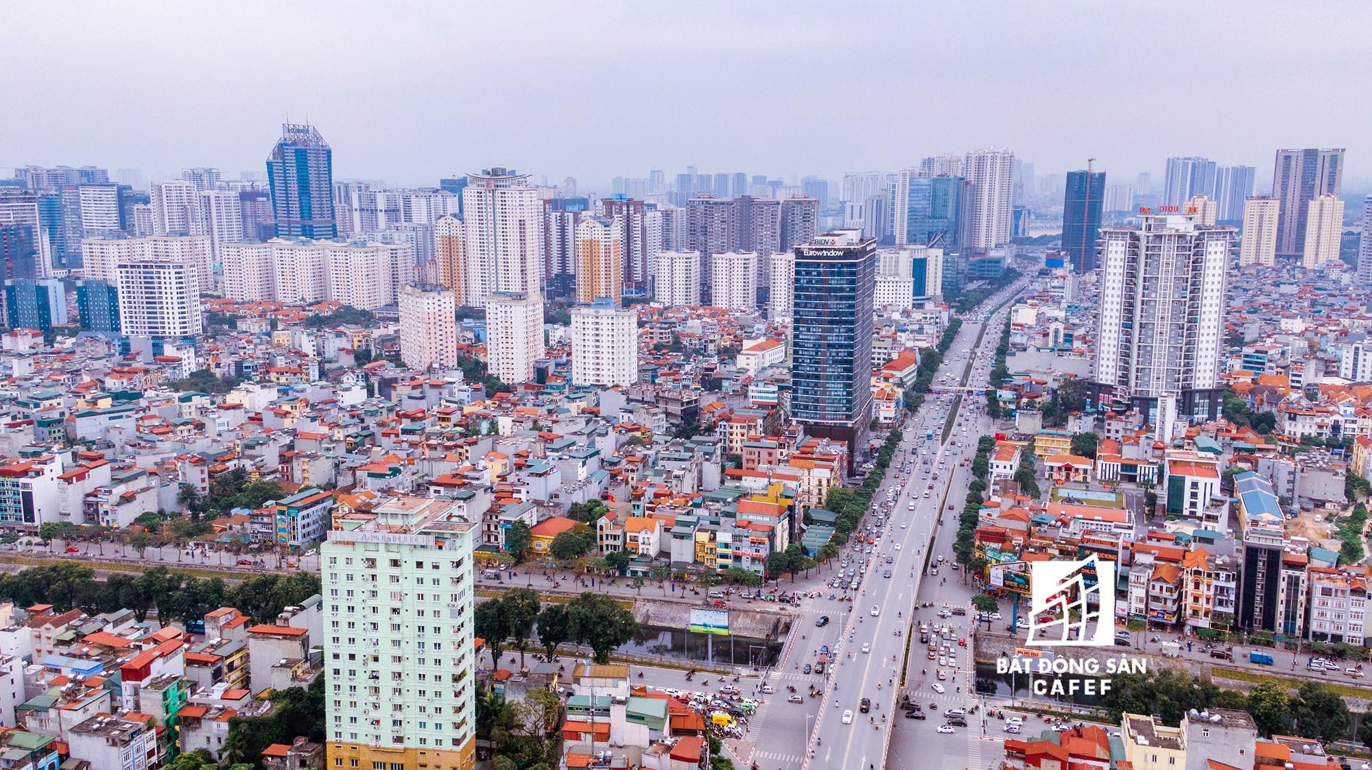 """Toàn cảnh """"rừng"""" cao ốc đang bóp nghẹt khu đô thị kiểu mẫu bậc nhất Hà Nội - Ảnh 14."""