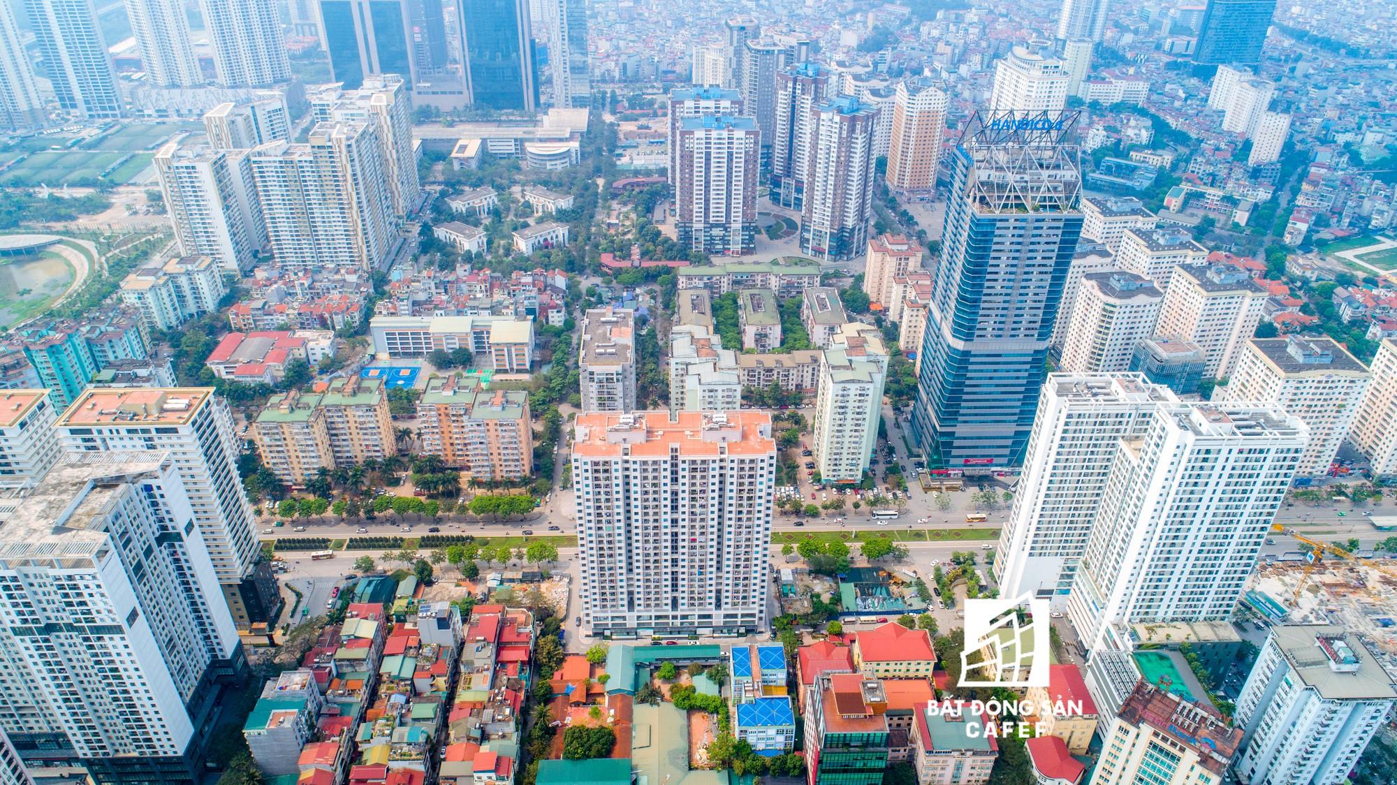 """Toàn cảnh """"rừng"""" cao ốc đang bóp nghẹt khu đô thị kiểu mẫu bậc nhất Hà Nội - Ảnh 5."""