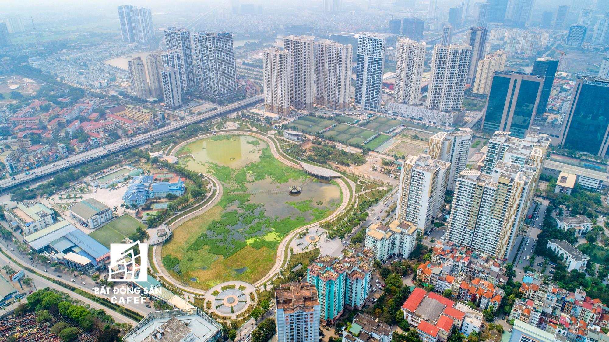 """Toàn cảnh """"rừng"""" cao ốc đang bóp nghẹt khu đô thị kiểu mẫu bậc nhất Hà Nội - Ảnh 6."""