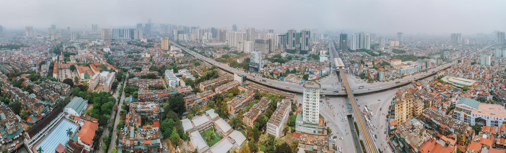 """Toàn cảnh """"rừng"""" cao ốc đang bóp nghẹt khu đô thị kiểu mẫu bậc nhất Hà Nội - Ảnh 15."""
