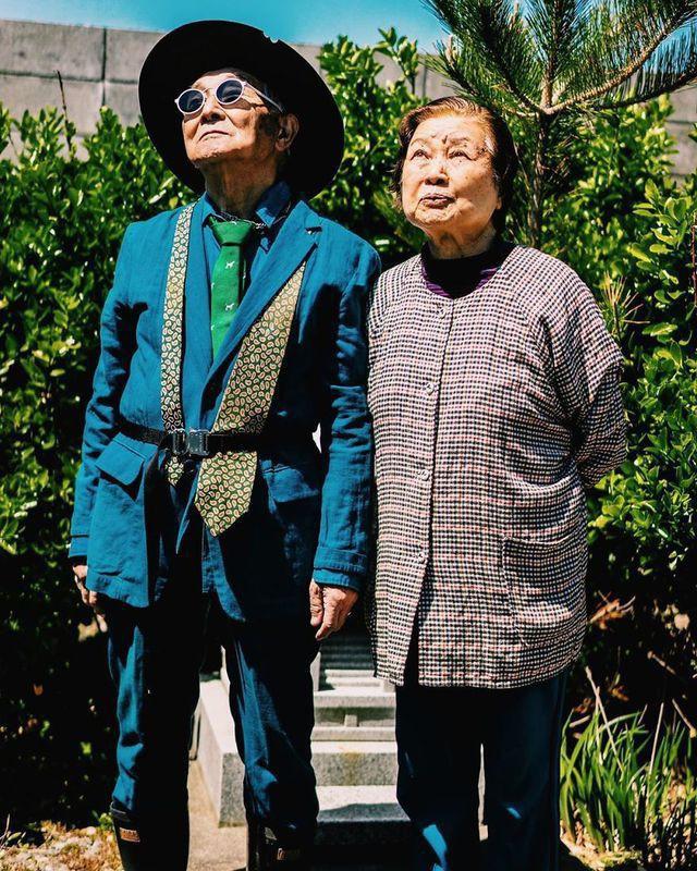 Được cháu trai hậu thuẫn, ông giáo 84 tuổi trở thành ngôi sao thời trang với biệt danh cụ ông sành điệu nhất Nhật Bản, đốn tim hàng trăm ngàn người - Ảnh 10.