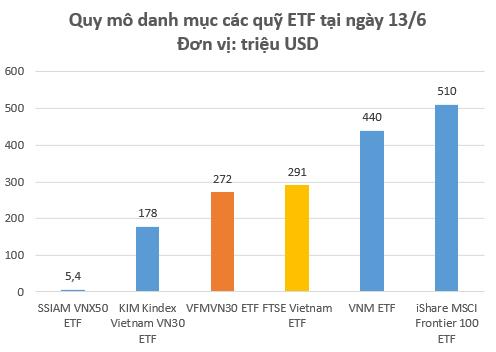 Liên tục phát hành chứng chỉ quỹ, quy mô danh mục quỹ ETF nội VFMVN30 đã ngang ngửa FTSE Vietnam ETF - Ảnh 1.