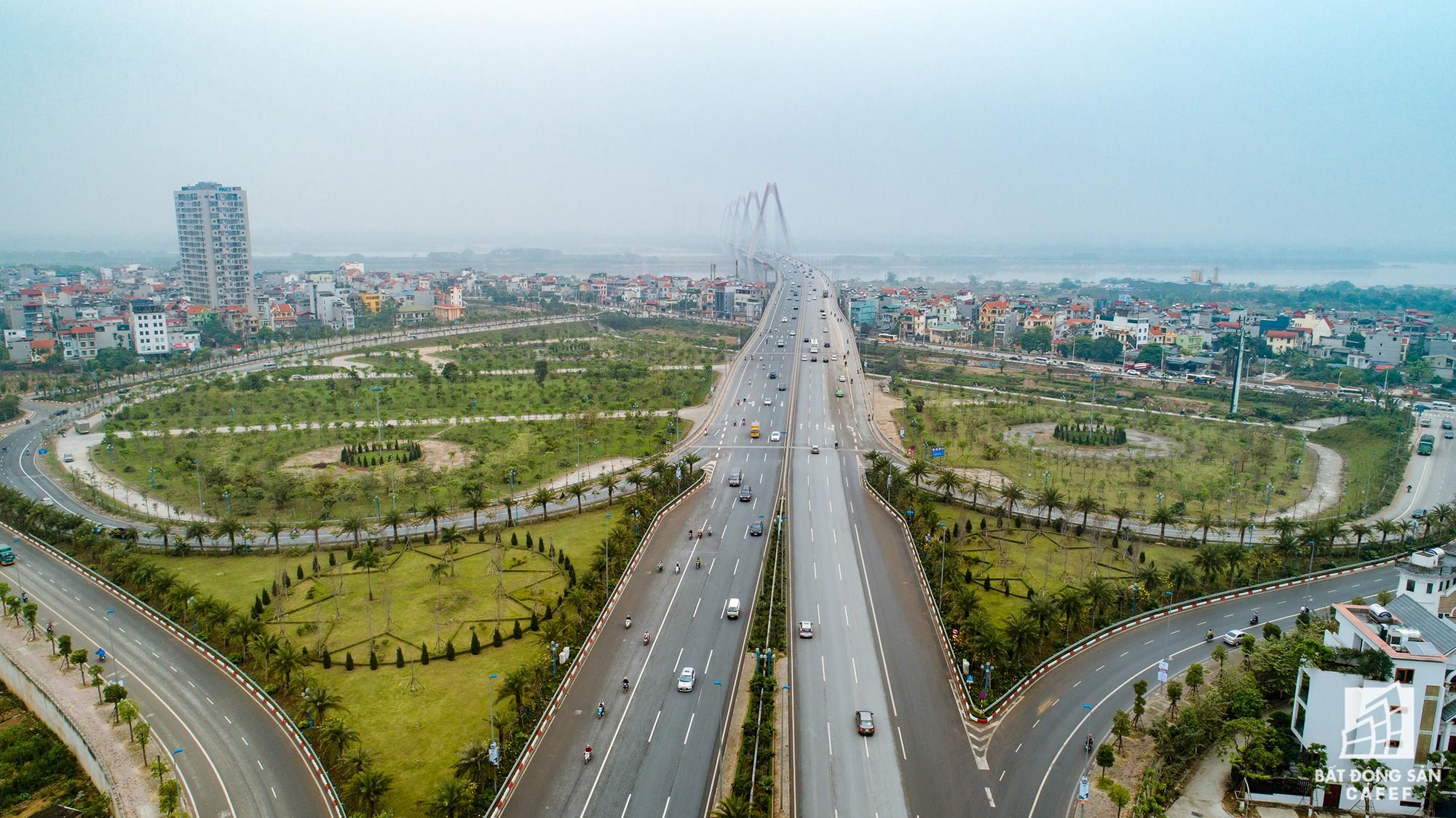 Cận cảnh hàng loạt dự án cao ốc dọc trục đường 8 làn xe tại trung tâm Hà Nội - Ảnh 1.