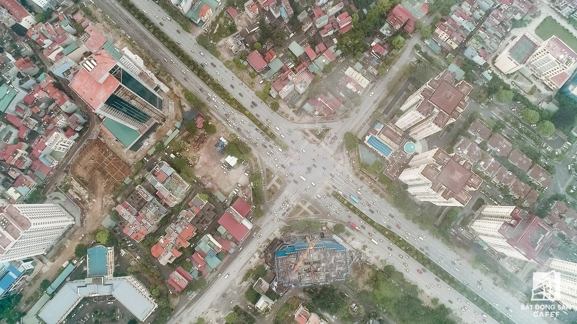Cận cảnh hàng loạt dự án cao ốc dọc trục đường 8 làn xe tại trung tâm Hà Nội - Ảnh 9.
