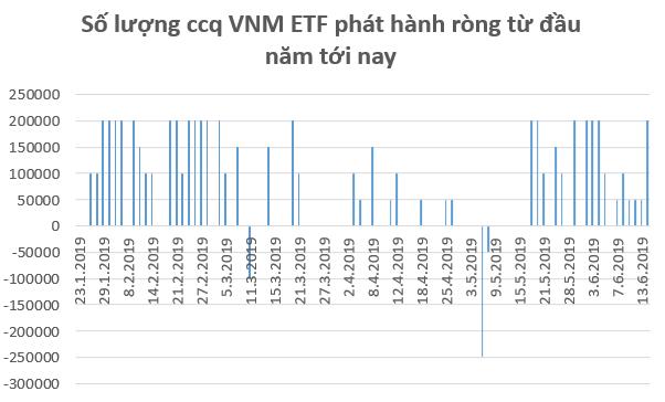 Hàng trăm tỷ đổ vào chứng khoán Việt Nam thông qua các quỹ ETF trong nửa đầu tháng 6 - Ảnh 1.