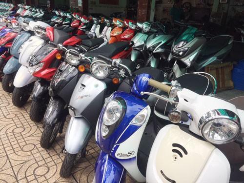 Sôi động thị trường xe máy phân khối nhỏ - Ảnh 1.