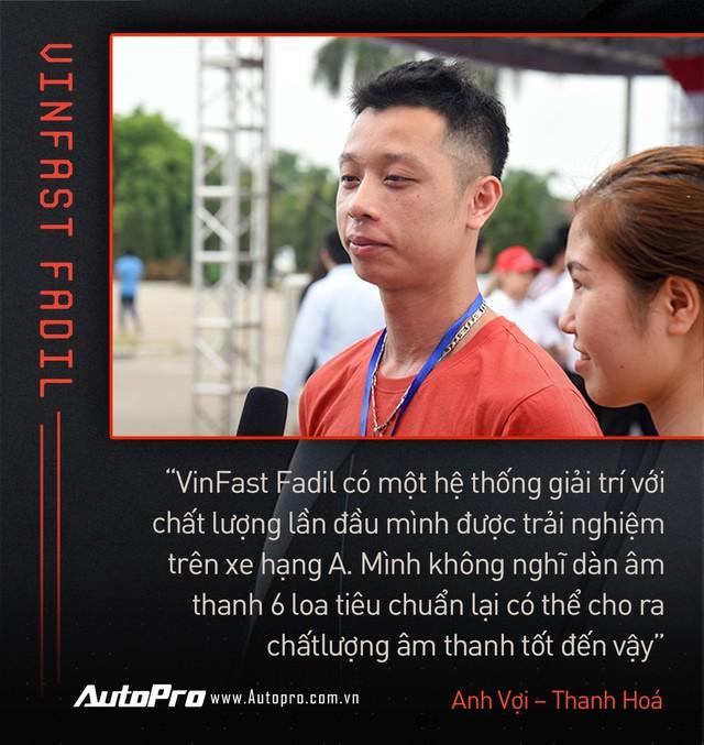 Khách Việt hết lời khen VinFast Fadil trong ngày nhận xe quy mô kỷ lục Việt Nam - Ảnh 3.