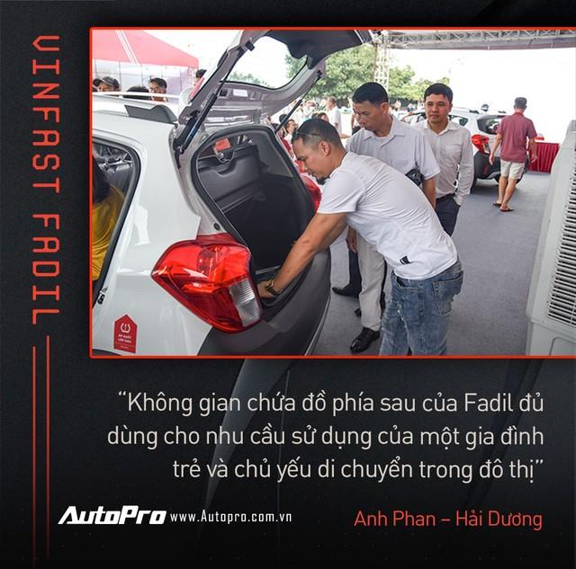 Khách Việt hết lời khen VinFast Fadil trong ngày nhận xe quy mô kỷ lục Việt Nam - Ảnh 7.