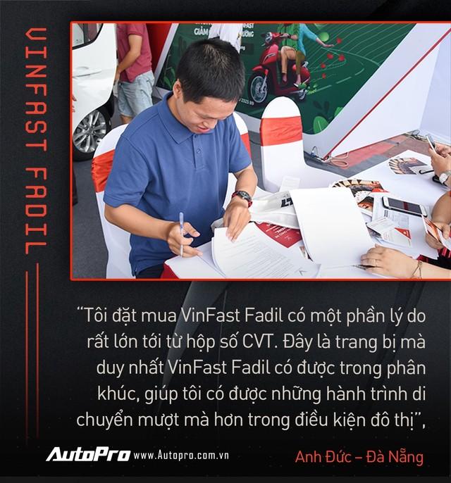 Khách Việt hết lời khen VinFast Fadil trong ngày nhận xe quy mô kỷ lục Việt Nam - Ảnh 9.
