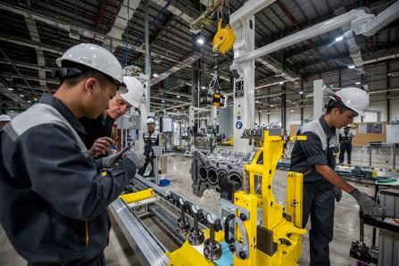 Bên trong xưởng sản xuất động cơ ô tô đầu tiên tại Việt Nam của VinFast có gì? - Ảnh 10.